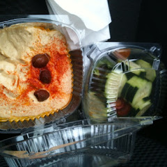 House-made hummus and veggies