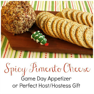 Spicy Pimento Cheese - Game Day Appetizer or Perfect Host/Hostess Gift