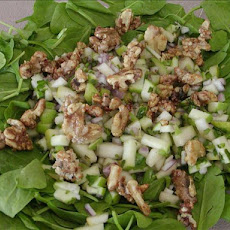 Spicy Minted Nut Salad