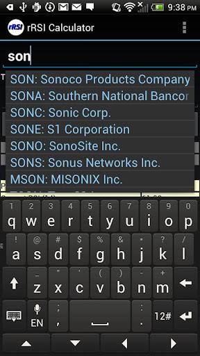Reverse RSI Calculator Pro - screenshot