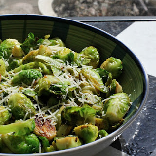 Lemon Garlic Brussels Sprouts
