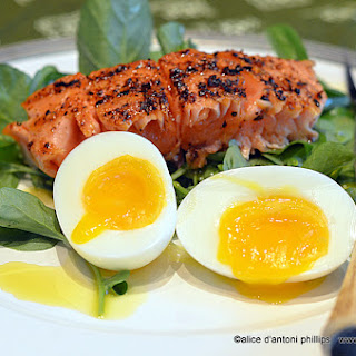 ~south African Spiced Salmon & Eggs~
