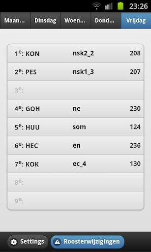 Mobiel rooster MWC