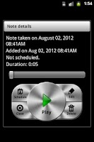 Screenshot of GT Voice Notes & Alarms