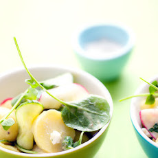 Potato Salad With Watercress, Cucumber And Radish
