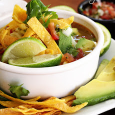 Our Version of Cafe Rio's Chicken Tortilla Soup