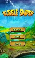 Screenshot of Bubble Sniper