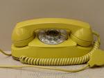 Desk Phones - Western Electric 702B Yellow Princess