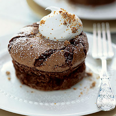 Chocolate-Amaretti Tortes