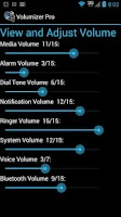 Screenshot of Volumizer