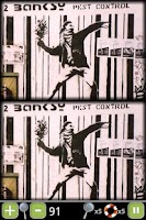 Screenshot of Banksy/Paranoid Differences