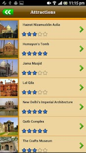Delhi Offline Map Travel Guide - screenshot