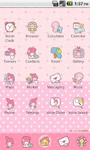 My Melody The Letter Theme - screenshot