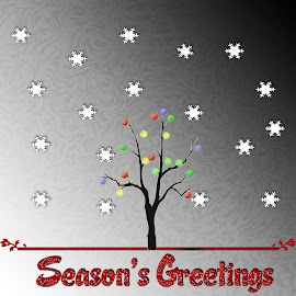 Season's greetings. by Dipali S - Typography All Typography ( new, seasons, greetings, christmas, holidays, year, typography )