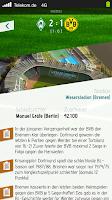 Screenshot of Herzrasen Fußball Live Ticker