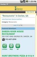 Screenshot of Darien Directory