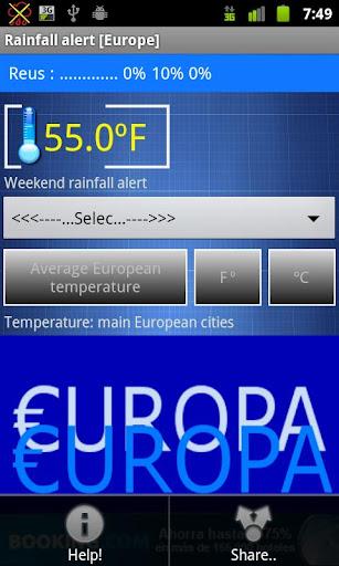 Rain - Alarm