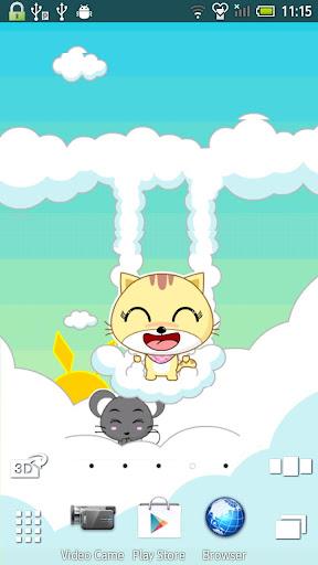玩個人化App|开心猫 动态壁纸免費|APP試玩