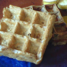 The Best Vegan Oat & Walnut Waffles (Or Pancakes)