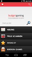 Screenshot of Budgetgaming.nl