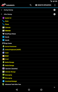 Autostarts Screenshot