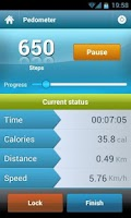 Screenshot of Smart Pedometer