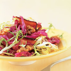 Warm Red Cabbage with Bacon