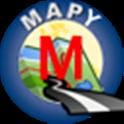 Miami mapa offline icon