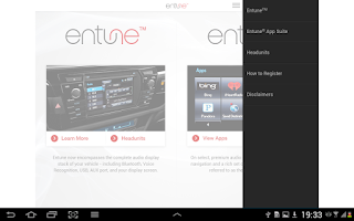 Screenshot of Entune Audio Simulator