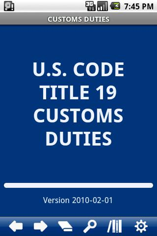 USC T.19 Customs Duties