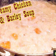 Creamy Chicken & Barley Soup