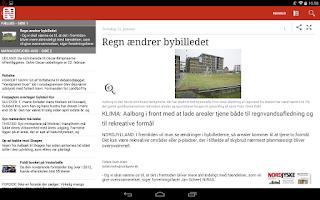 Screenshot of NORDJYSKE Stiftstidende