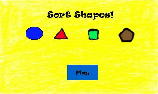 Sort Shapes