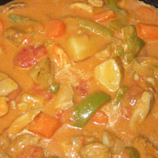 Yummy Coconut Curry Chicken