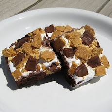 Smores Topped Brownies