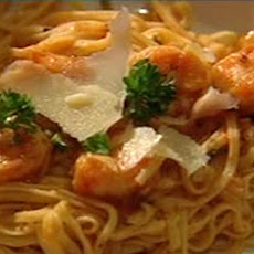 Mama Rosa's prawn pasta with vodka infused arrabiata sauce