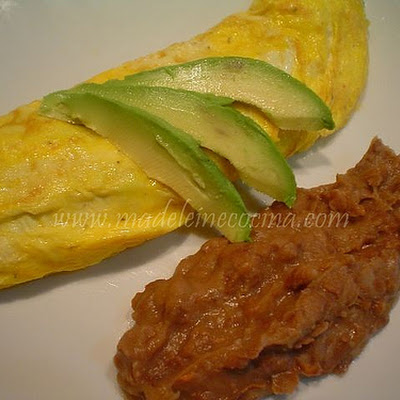 Omelette with Avocado