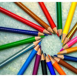 Colors  by Raghu Varun Dev Tanna - Abstract Patterns