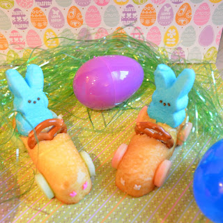 Bunny Peeps Race Cars | Easter Treat Idea
