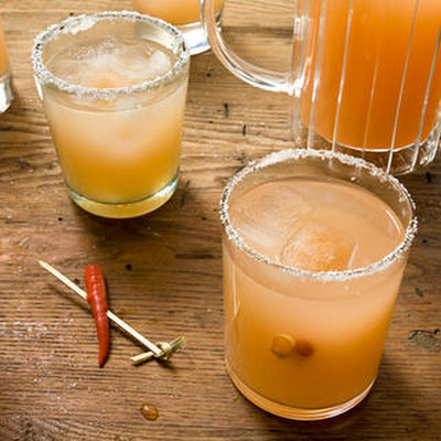 Red Chile–Guava Margarita