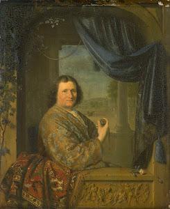 RIJKS: Pieter Cornelisz. van Slingelandt: painting 1688