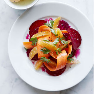 Beet and Carrot Salad with Citrus Vinaigrette