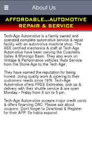 Tech-Age Automotive - screenshot