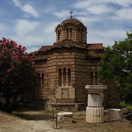 Roman Agora by Ansari Joshi - Buildings & Architecture Statues & Monuments ( ancient, athens, roman agora, monument )