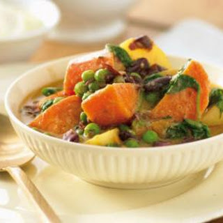 Low Fat Sweet Potato Spinach Curry Recipes