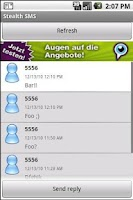 Screenshot of Stealth SMS