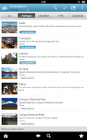 Screenshot of Ecuador Travel Guide