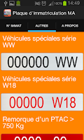 Screenshot of Number Plates MA