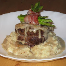 Filet Mignon With Cognac Sauce