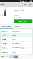 Screenshot of mySupermarket – Shopping List
